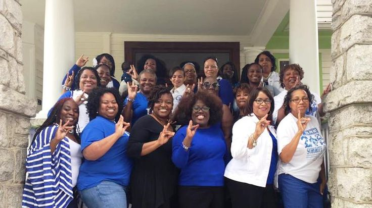 Greensboro and High Point Sorors with PIGB Sheryl Underwood