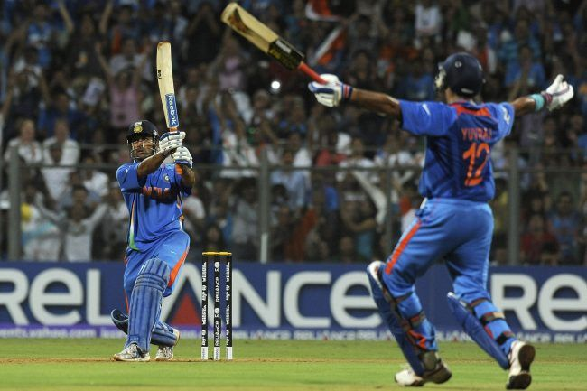 That moment when we all cherished after 28 years when Dhoni's men in blue brought back the World Cup. Now it's time for the action again, come on boys don't give it up.