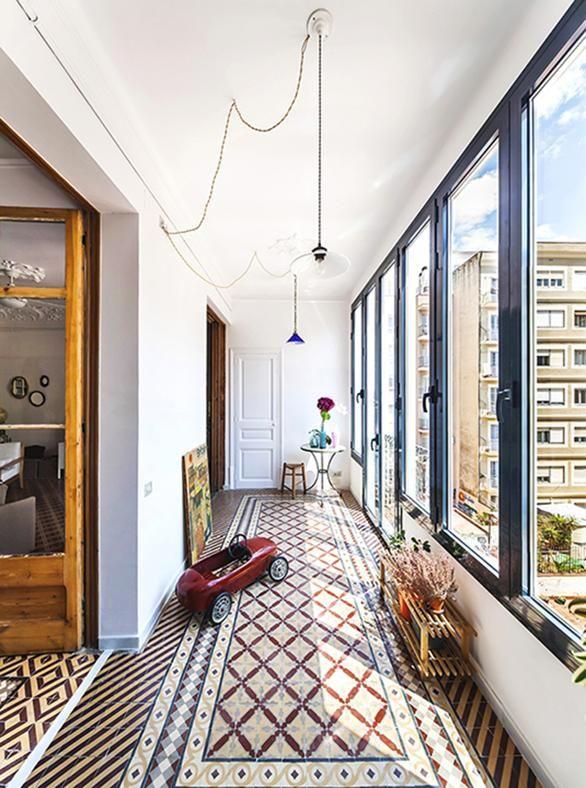 Appartamento mosaico a Barcellona