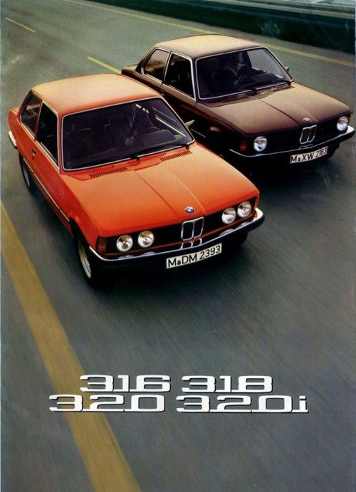 BMW 3 series classic ad