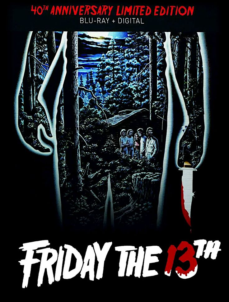FRIDAY THE 13TH 40TH ANNIVERSARY LIMITED EDITION BLURAY