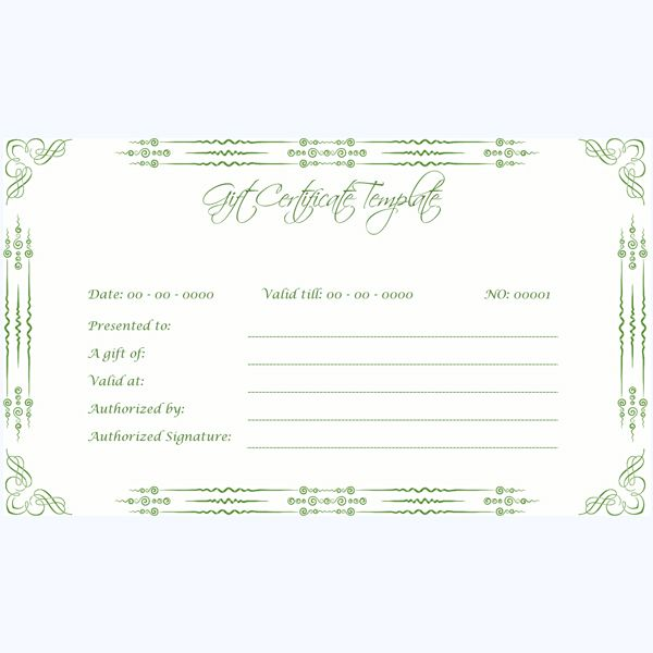 47 best Gift Certificate Templates images on Pinterest Gift - microsoft word gift certificate template