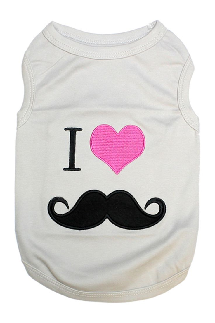 My Dog Boutique Mustache Dog T-Shirt