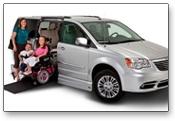 VMI makes a variety of wheelchair vans from Chrysler/Dodge and Honda minivans to Ford Econoline full-size vans