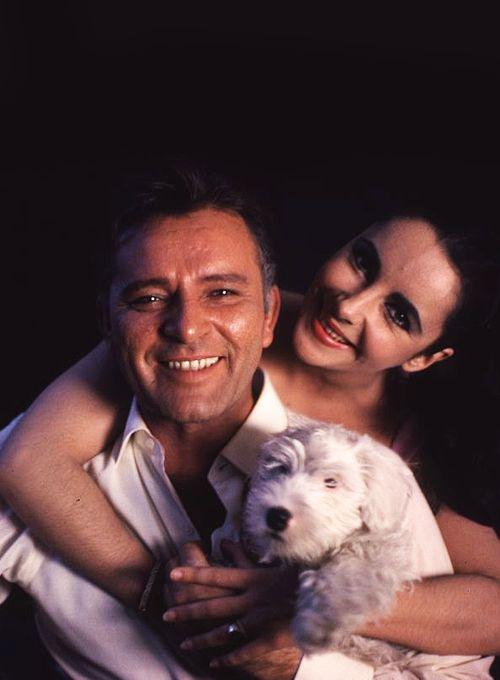 Elizabeth Taylor & Richard Burton in 1963