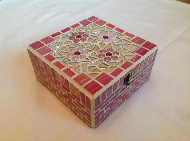 Mosaic jewellery box made to order £18