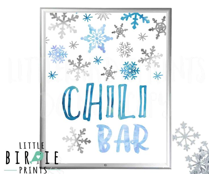 CHILI BAR Sign Boy Winter Onederland Birthday Decorations Sign Silver Blue Navy Watercolor Chili Bar Sign Winter Onederland Birthday party by littlebirdieprints on Etsy https://www.etsy.com/listing/482299737/chili-bar-sign-boy-winter-onederland