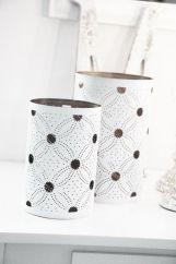 Jali lantern - white
