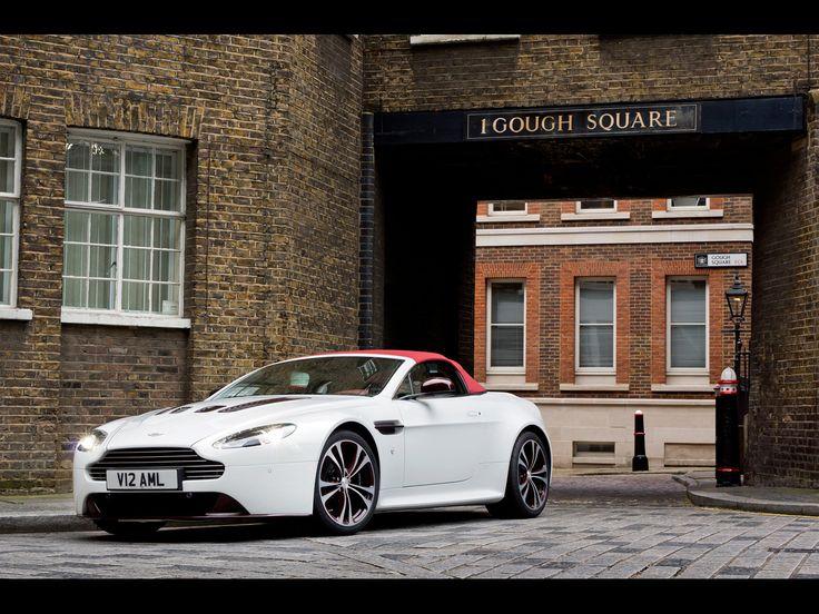Beautiful 2012 Aston Martin V12 Vantage Roadster