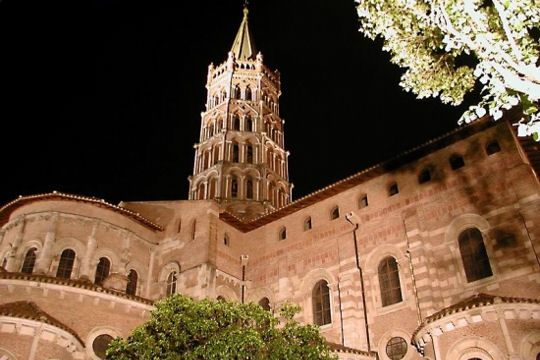 Toulouse (south France) : Saint-Sernin Basilica - Xe - XIIe centuries : the most complete and beautiful roman church in Europe.