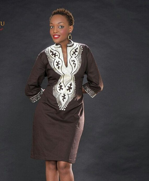 Ladies Embroidered Dress African clothes African by PageUk on Etsy ... 31d5389f6
