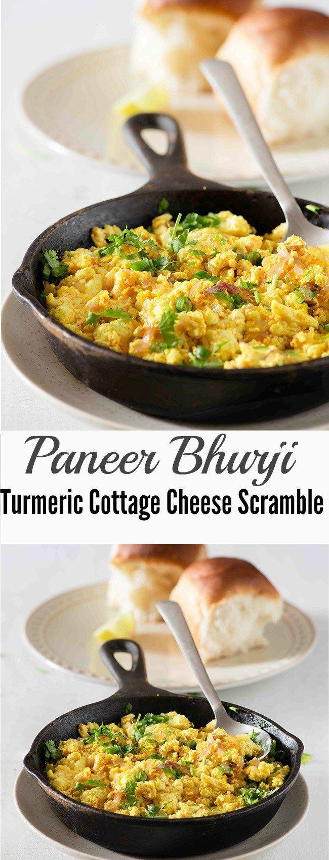 Paneer Bhurji | Scrambled Cottage Cheese or Paneer