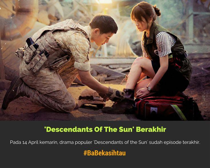 #BaBekasihtau 'Descendants Of The Sun' Berakhir, Para Pemeran Ucapkan Terimakasih. https://app.babe.co.id/read/6403240/descendants-of-the-sun-berakhir-para-pemeran-ucapkan-terimakasih