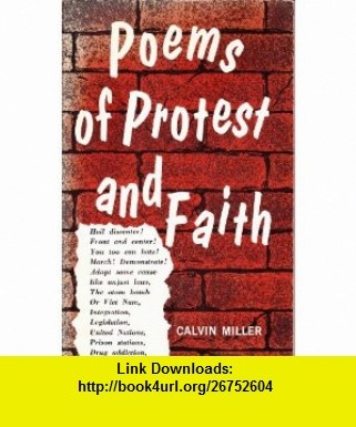 9 best cheap e book images on pinterest tutorials book and books poems of protest and faith calvin miller asin b002ega3pk tutorials fandeluxe Gallery