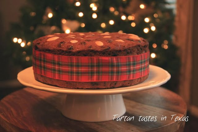 Tartan Tastes in Texas: Scottish recipes - Dundee Cake (a fruit cake that you will love)