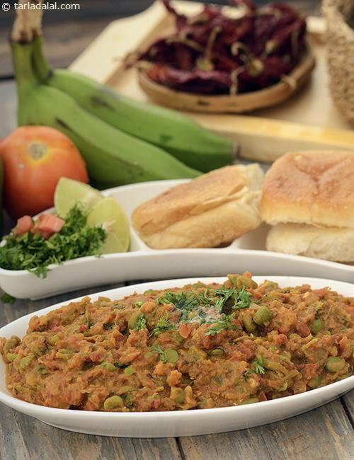 14 best jain food q and a images on pinterest jain food jain jain pav bhaji using raw bananas forumfinder Images