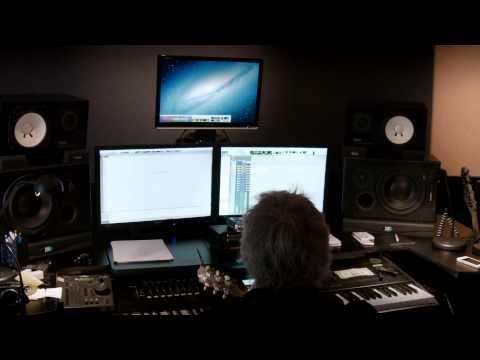 Natascha Hagen & Bernhard Penzias Composing Music #NataschaHagen #music #songwriting #LosAngeles #LA #Natascha #Hagen