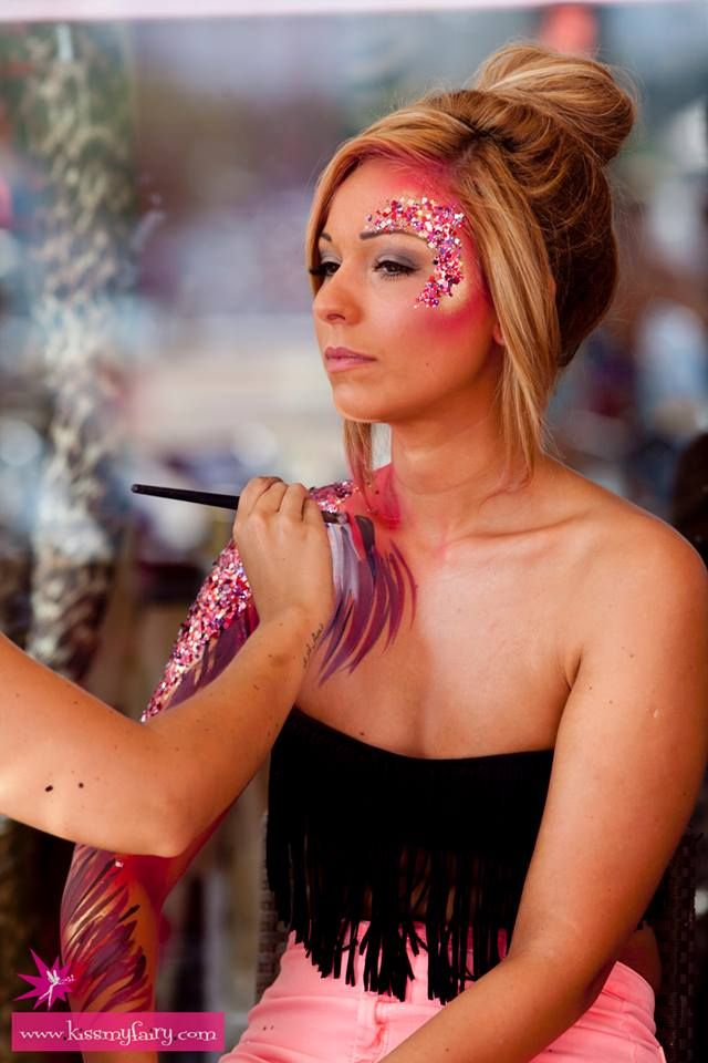 kiss my fairy body paint