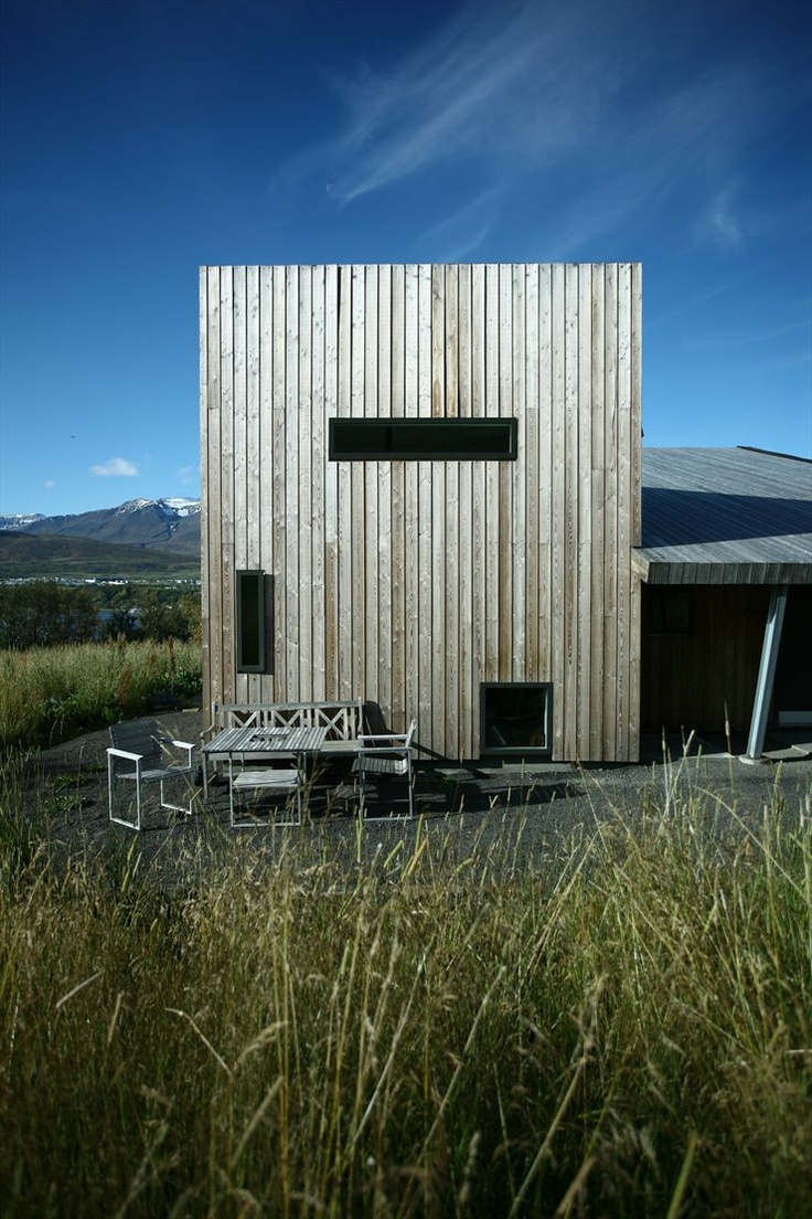 Villa Lóla, Akureyri, 2010 by ARKÍS architects #architecture #landscape #green #sustainable