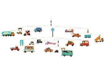 mobile 'trafic' coloré