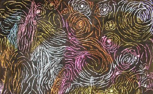 Crayon Etching (Scratch Art): Drawing Lessons for Kids: KinderArt ®