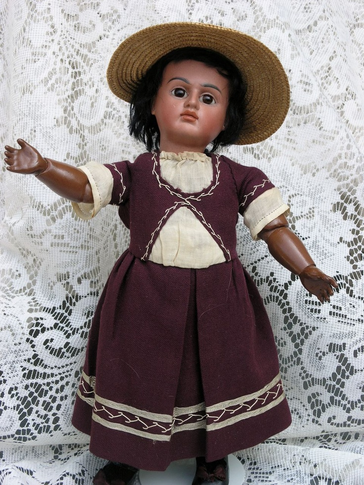 German Bisque Brown Complexioned Character Child 244 by Bahr & Proschild          $1,195