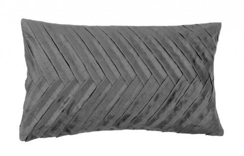 ABNER Pleated Cushion (Grey)