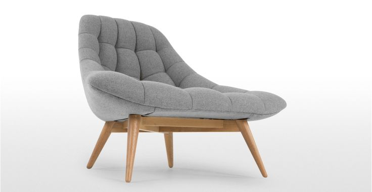 Kolton Chair, Whisper Grey | made.com