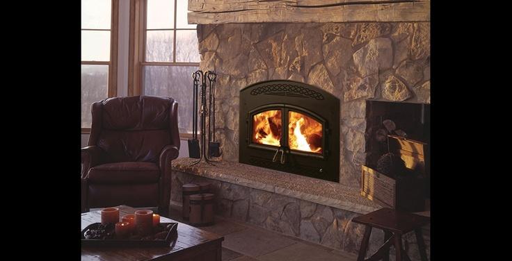 Heatilator Wood Burning Fireplace Insert Masonry Details