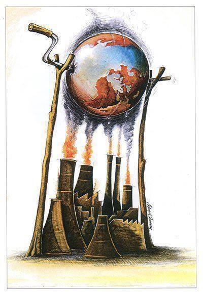 A produção de poluição e agentes tóxicos prejudicam o meio ambiente e a saúde dos seres que habitam no planeta... É necessário haver o balanço no uso desses produtos, para a melhor convivência na Terra. www.eCycle.com.br Sua pegada mais leve.