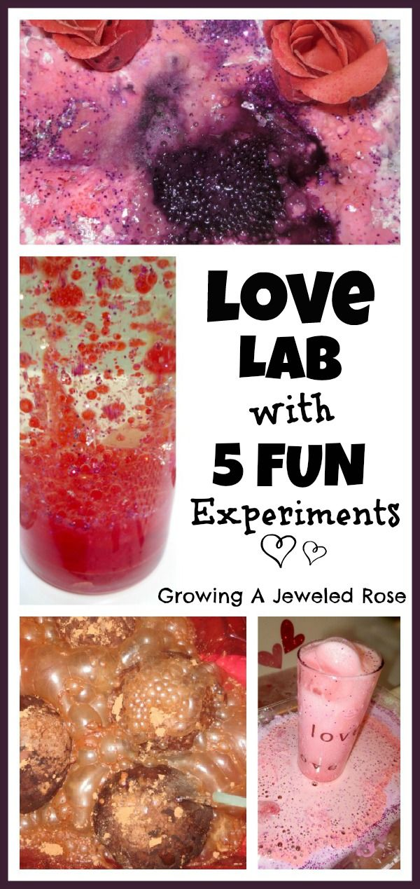Love Potions Lab with 5 Fun Experiments