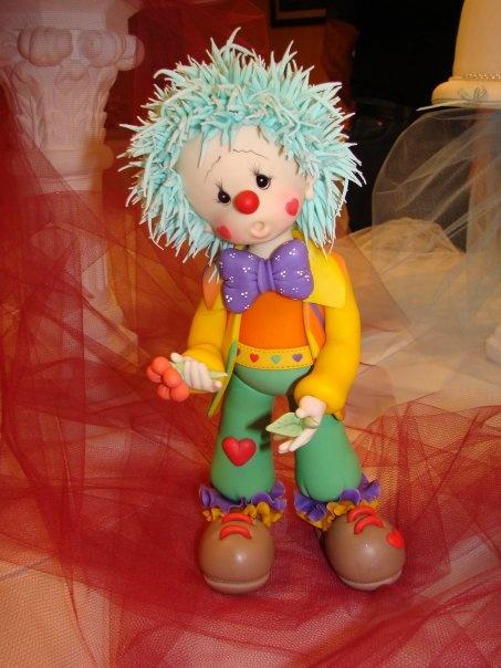 Tired clown cake.