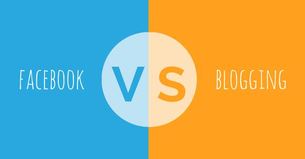 Facebook vs Blogging: The Pros and Cons | Lonetester HQ