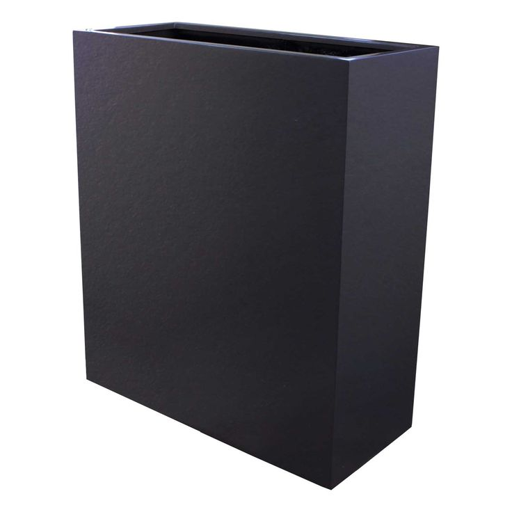 Perth tall partition indoor outdoor planter box travel for Cubicle planter box