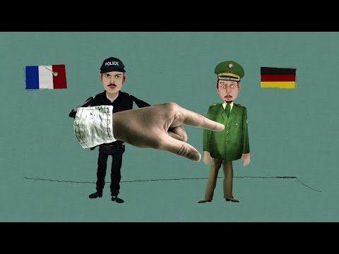 der Look: die deutsche Polizeiuniform - YouTube