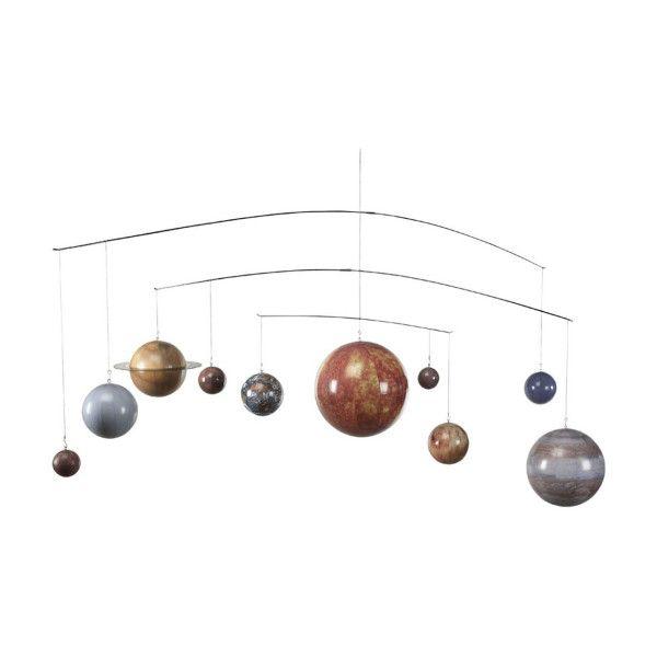 De Solar System Mobile GL061 is een mobiel van het heelal. Starend in de nachtelijke hemel afvragen wat de omvang is van het universum. Dat kan door de Solar System Mobile GL061. Een decoratief model van ons planetenstelsel. Leuk voor kinderen.