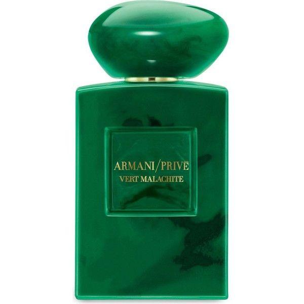 GIORGIO ARMANI Vert Malachite eau de parfum 100ml found on Polyvore featuring beauty products, fragrance, flower perfume, giorgio armani perfume, blossom perfume, eau de perfume and giorgio armani fragrance