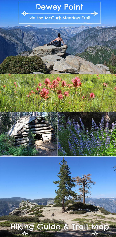 Yosemite Day Hikes Dewey Point vis
