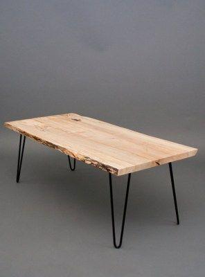 tavolo da cucina piano in legno gambe in ferro 140x75x75