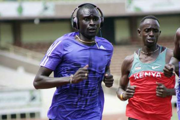Rudisha leads fearsome Kenyan charge in Shanghai  American Nick Seymonds and Michael Rimmer of Britain are also lined up against King David