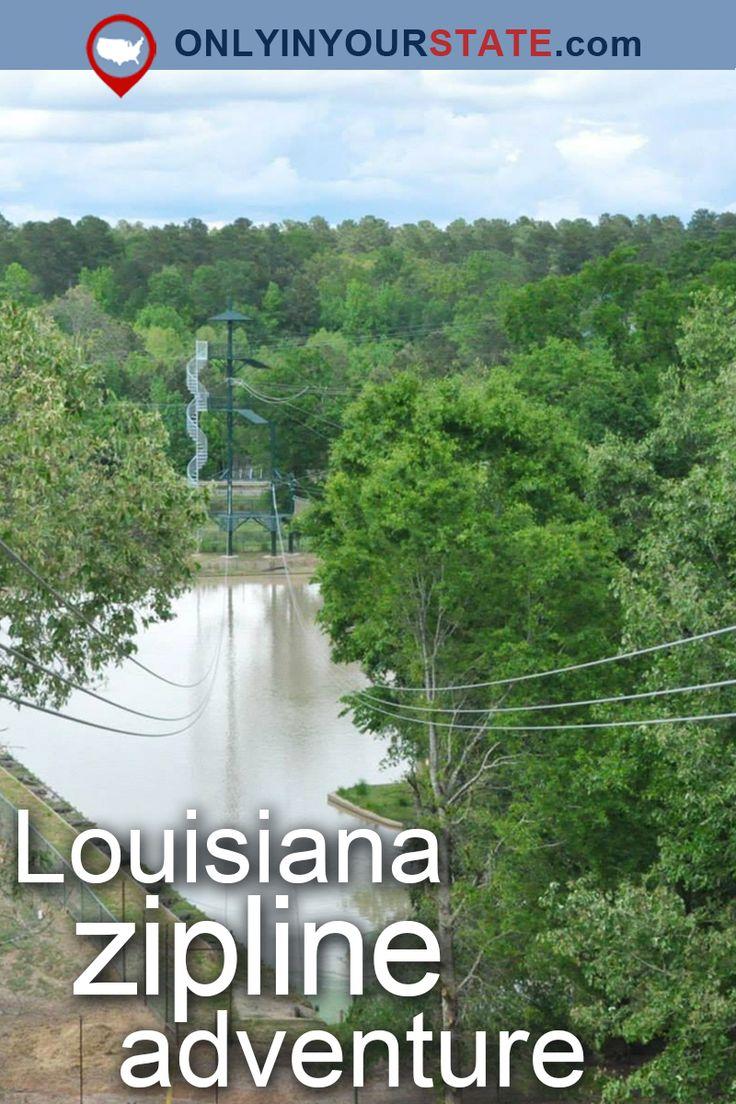 The Epic Zipline In Louisiana That Will