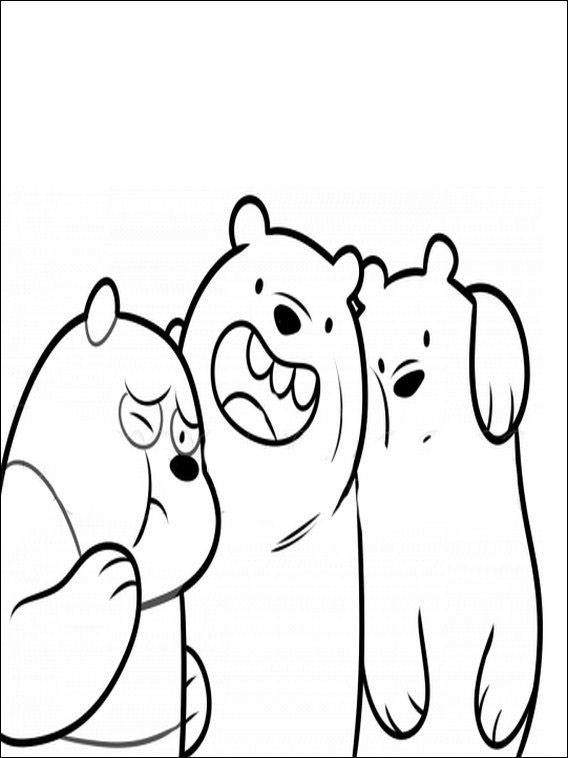 Ursos Sem Curso Para Pintar 4 Pintar E Colorir Desenhos Ursos