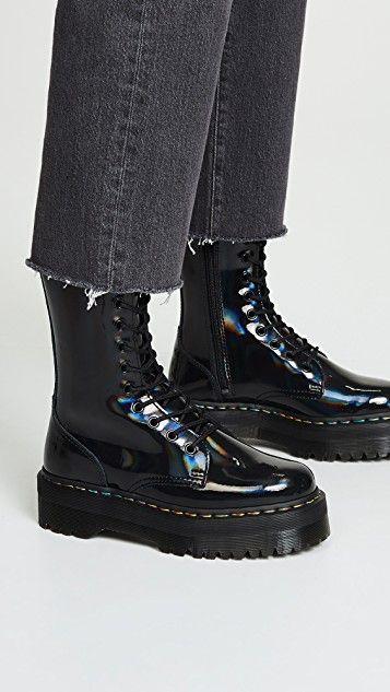 cc73b267ced614 Dr. Martens Jadon 10 Eye Boots
