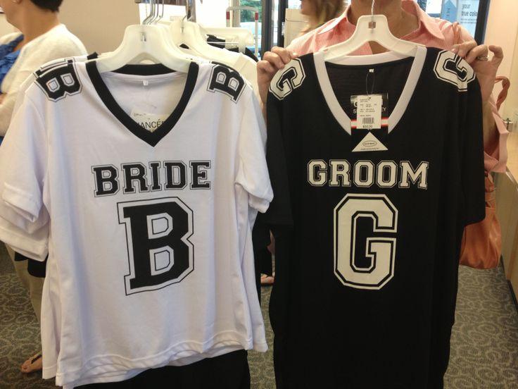David's bridal wedding football jerseys