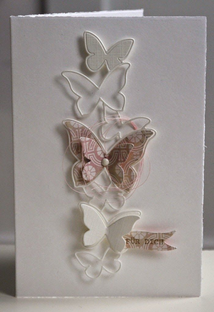 Blütenstempel: pastell and white