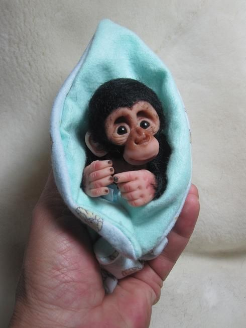 Pin By Wendy Howard On Polymer Clay Monkey Tutorials