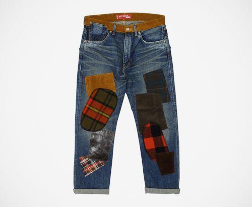Junya Watanabe COMME des GARCONS MAN x Levi's Vintage Clothing 1954 Patchwork Denim