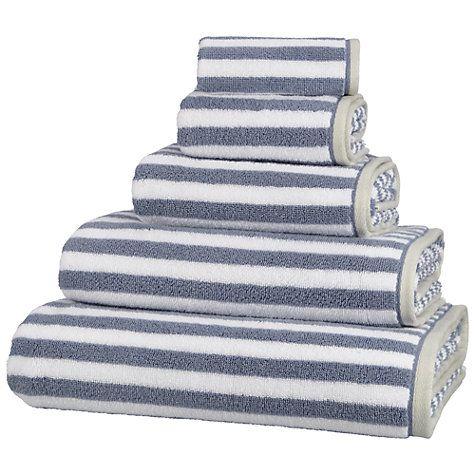 Buy John Lewis Coastal Stripe Dune Towels, Multi Online at johnlewis.com