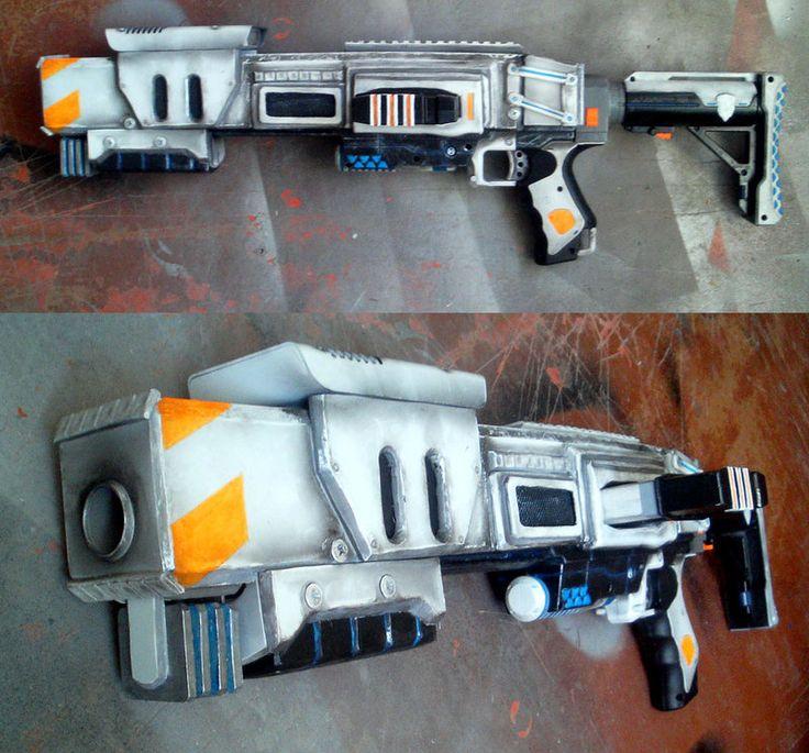 NERF Raider 01 cyberpunk by Beketov