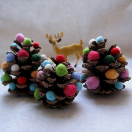 Already thinking of Christmas crafting! :)